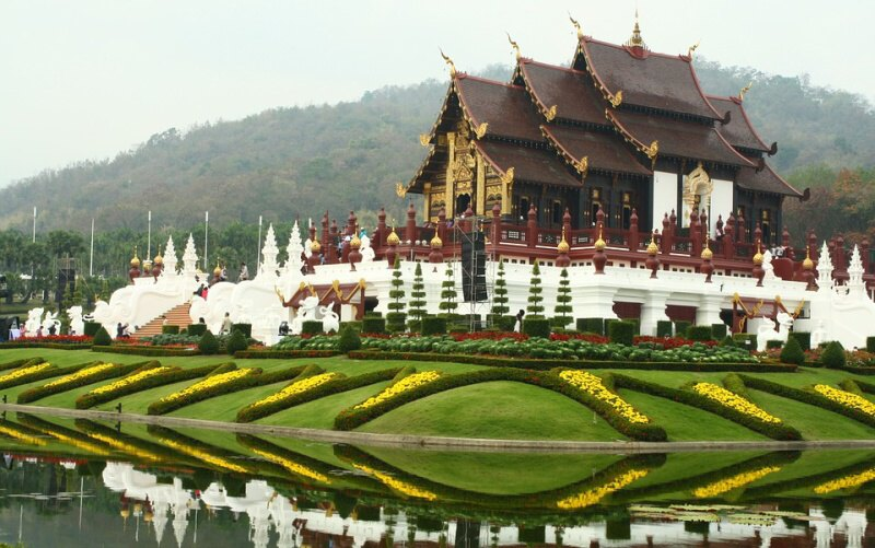 Město Chiang Mai Thajsko