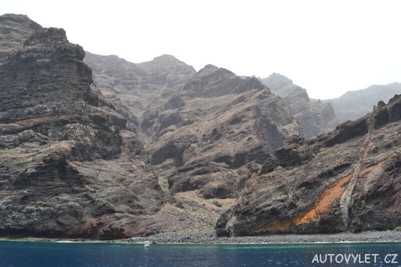 Ostrov Tenerife jezero
