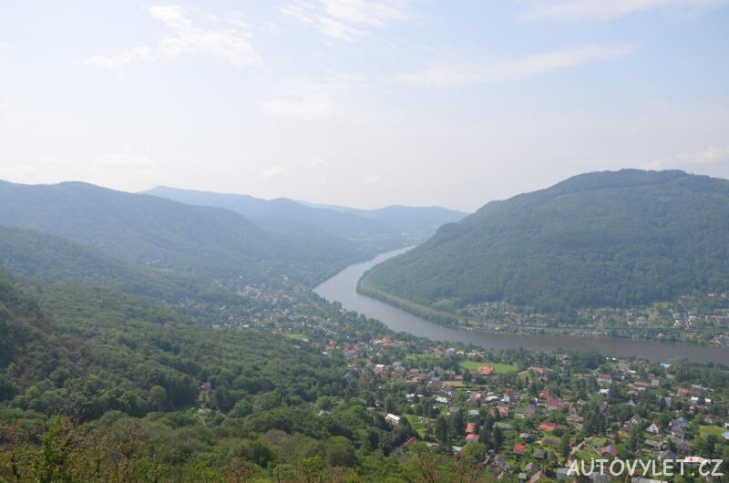 Vyhlídka Brná - Ústí nad Labem
