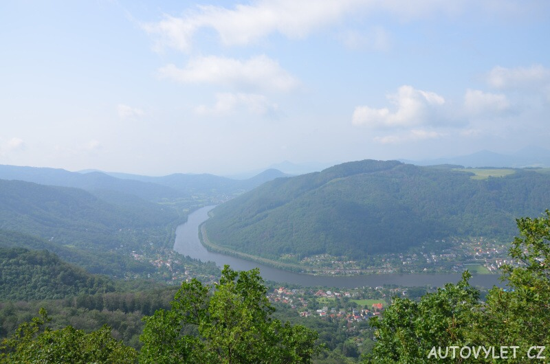 Vysoký Ostrý vyhlídka - Ústí nad Labem 2