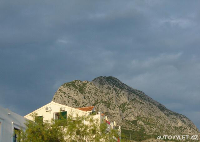 Chorvatsko pohoří Biokovo