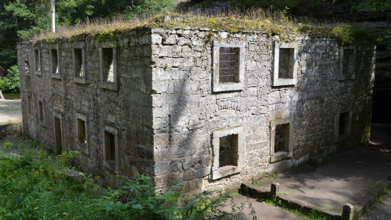 Dolský mlýn - Jetřichovice - České Švýcarsko