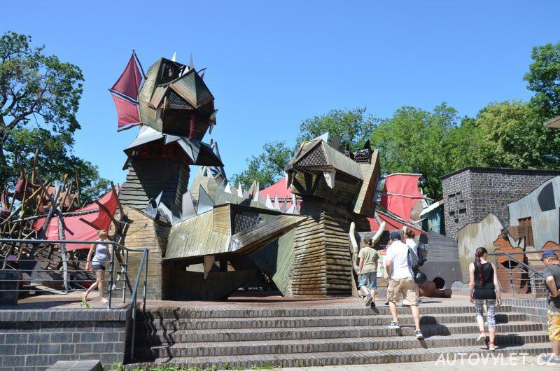 Dračí hrad - Zoo Lipsko