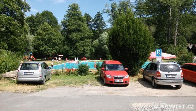 Koupaliště Želízy - parkoviště