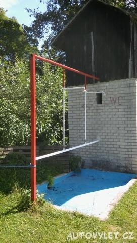 Koupaliště Želízy - sprcha