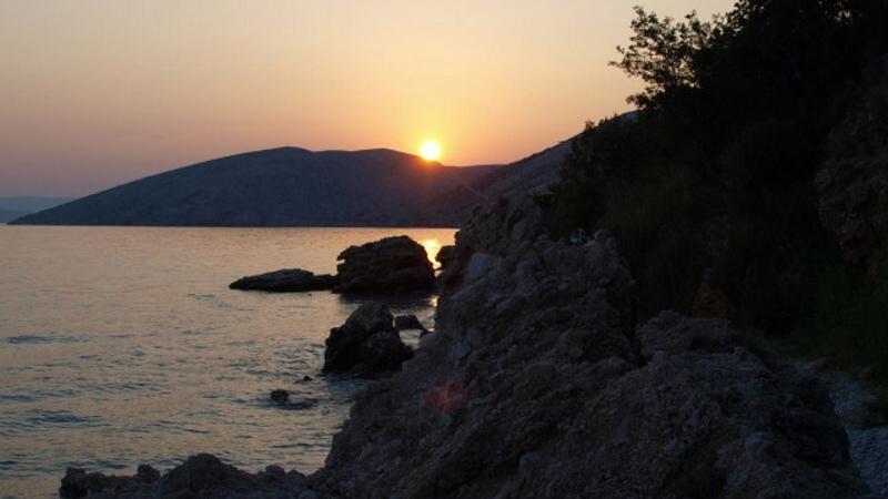 Krk ostrov Chorvatsko