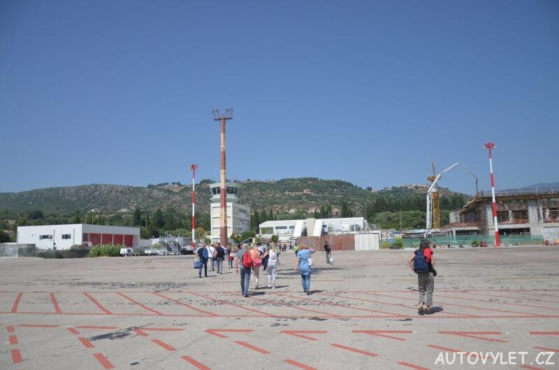 Letiště Kefalonie Řecko 2