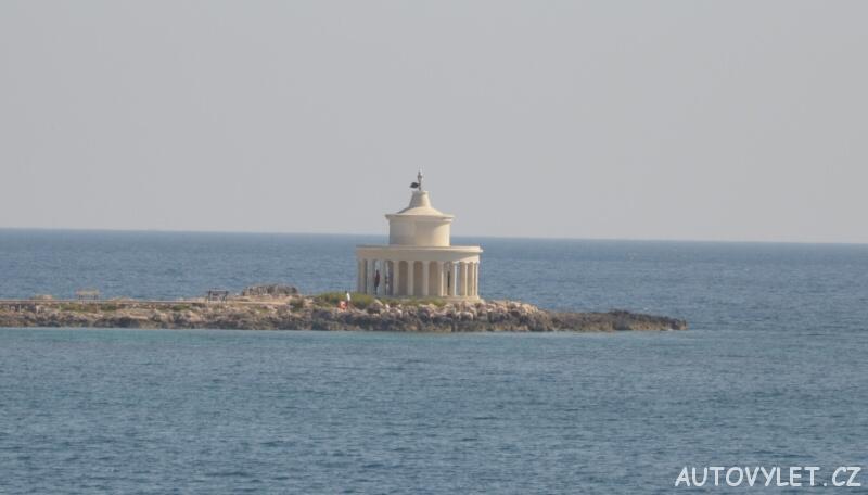 Maják Fanari - Argostoli Kefalonia Řecko