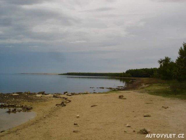 Písčité pláže Nin Chorvatsko 2