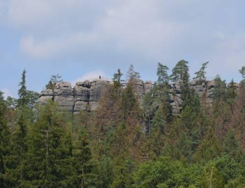 Šaunštejn – skalní hrad v Českém Švýcarsku