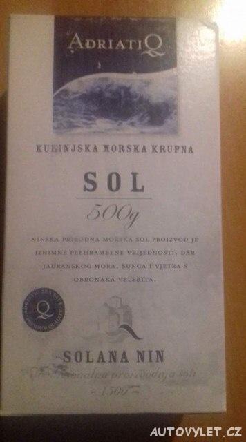 Solana Nin Chorvatsko