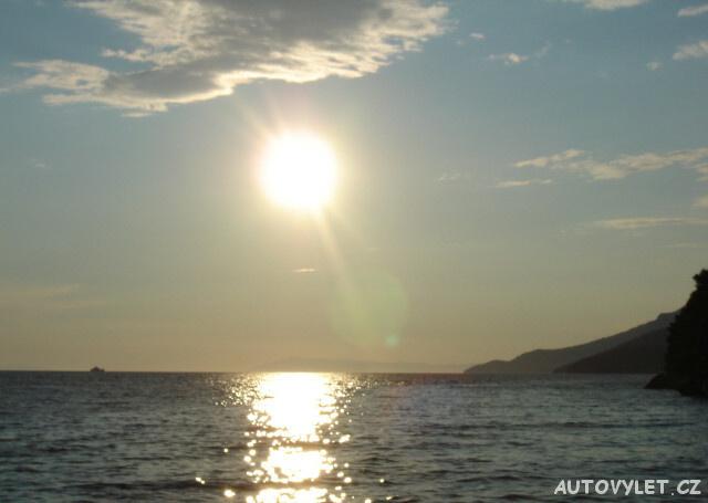Zaostrog Chorvatsko - západ slunce