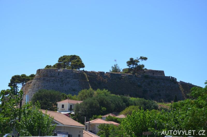 Agios Georgios hrad - Kefalonia Řecko