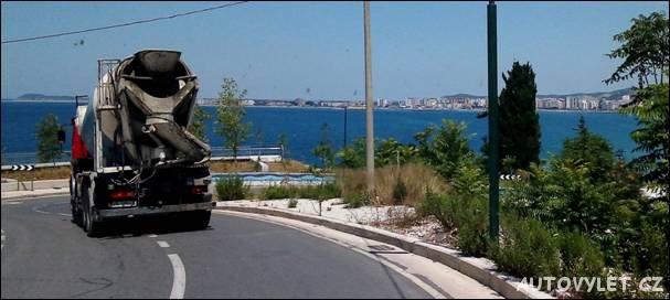 Albánie, pohled na Vloru