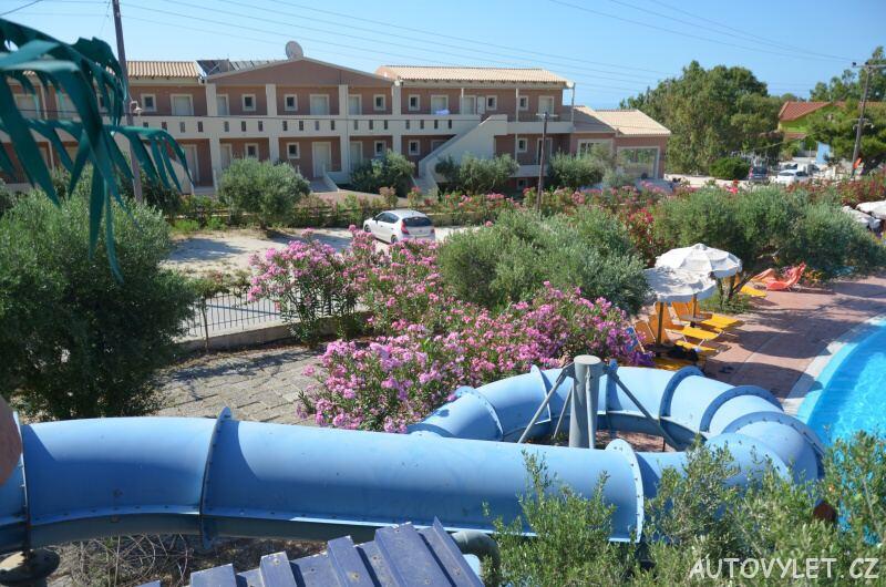 Aqua park Kefalonia - parkování