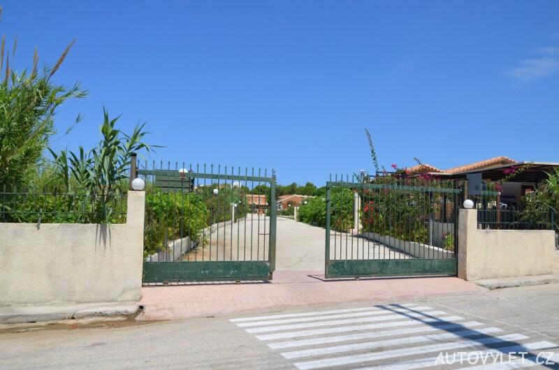 Aqua park Kefalonia - vchod