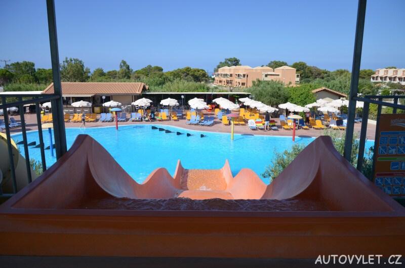 Aqua park Kefalonie Řecko