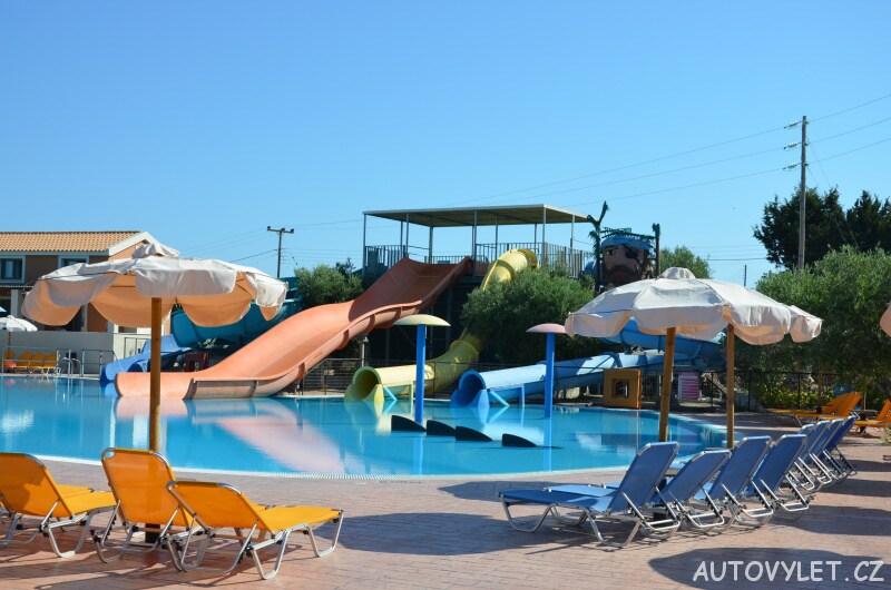 Aquapark Kefalonie Řecko