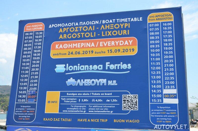 Argostoli - Lixouri trajekt
