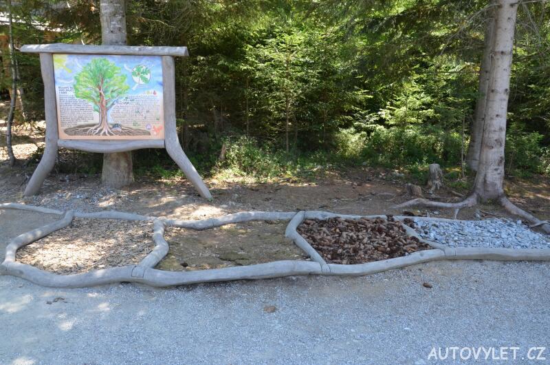 Bosá stezka - Království lesa - Lipno nad Vltavou