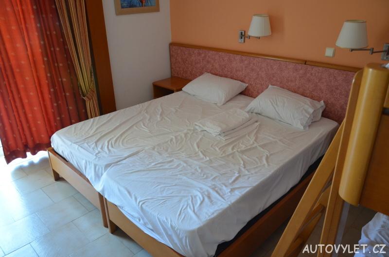 Cephalonia Palace hotel - postele