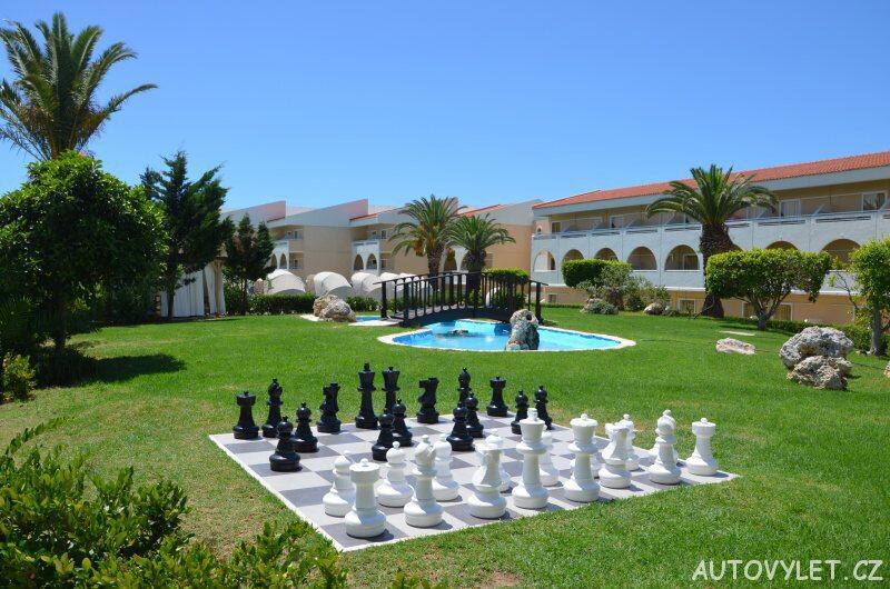 Cephalonia Palace hotel - šachy