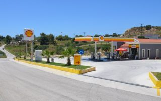 Čerpací stanice Shell - Kefalonia Řecko