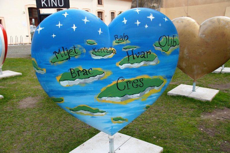 Chorvatsko srdce