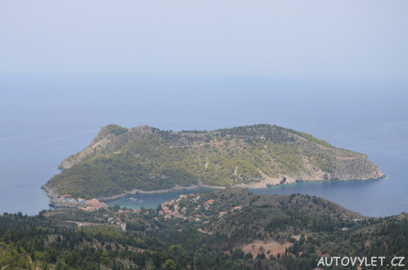 Hrad Assos - Kefalonie Řecko