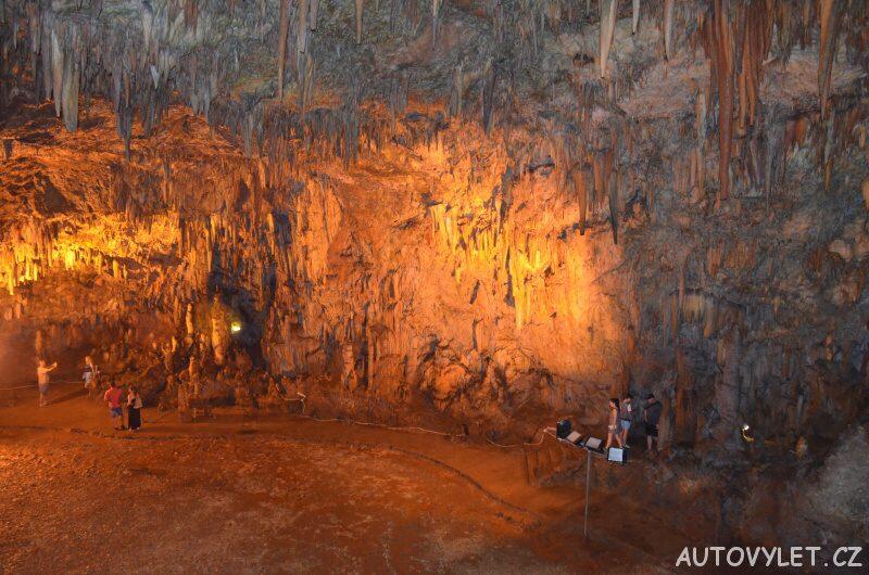 Jeskyně Drogarati Kefalonie 2