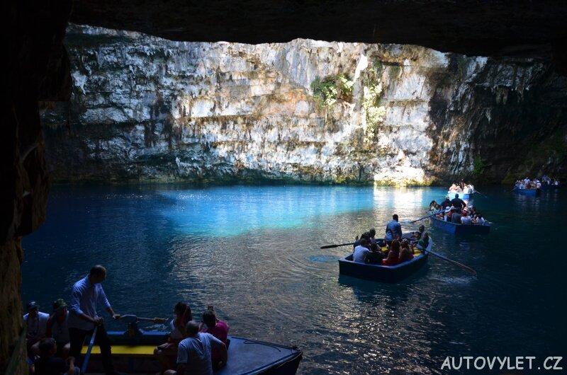Jeskyně Melissani Kefalonie