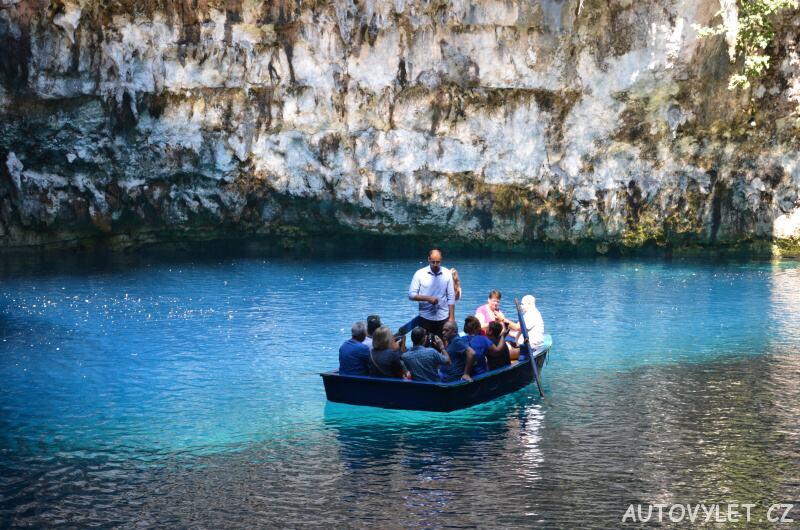 Jeskyně Melissani Kefalonie 2