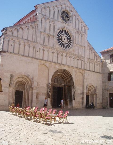 Katedrála sv. Anastázie - Zadar Chorvatsko