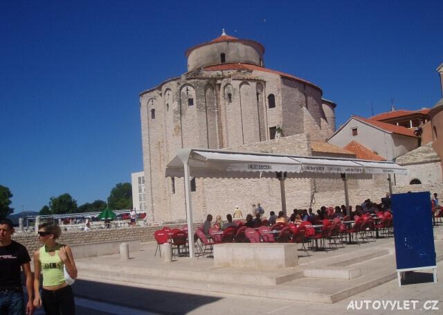 Kostel sv. Donáta - Zadar Chorvatsko