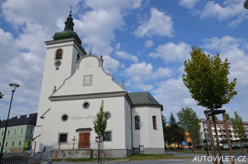 Kostel - Volary