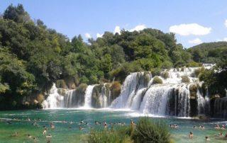 Národní park Krka v Chorvatsku