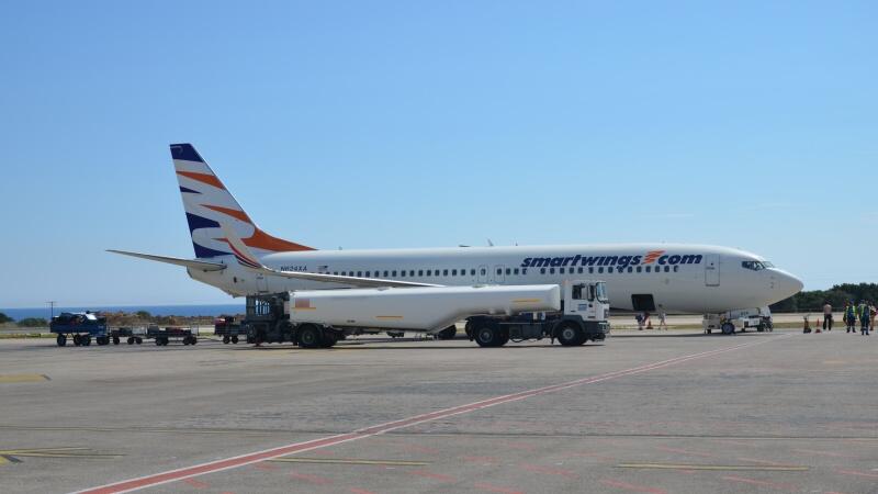 Letadlo Smart Wings - Kefalonia Řecko