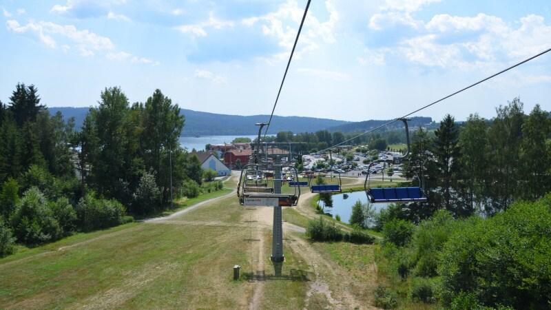 Letní lanová dráha - Lipno nad Vltavou