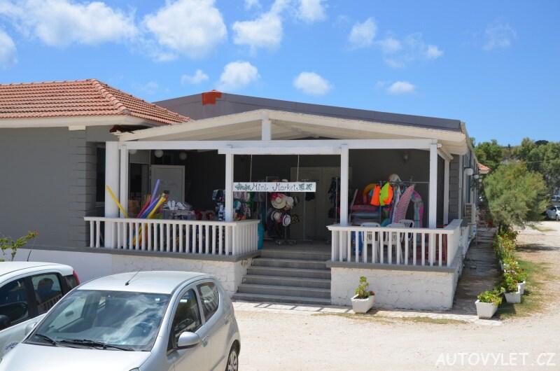 Mini market u pláže Xi - Kefalonia