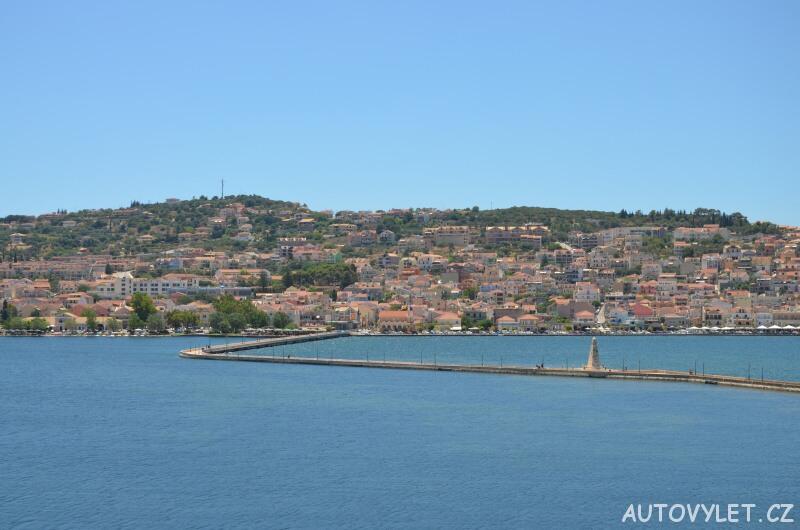 Most Drapano - Argostoli Kefalonie Řecko