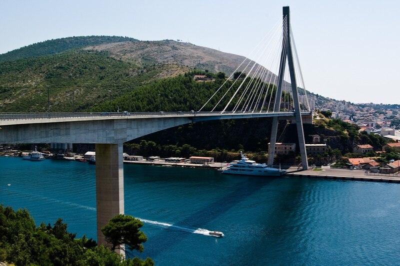 Most v Chorvatsku