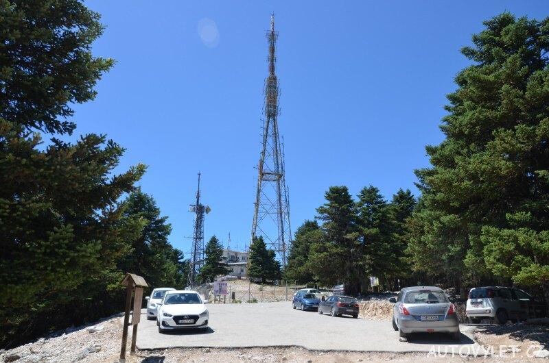 Parkování - hora Ainos Kefalonia