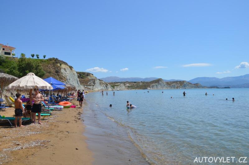 Pláž Meltemi - Kefalonie