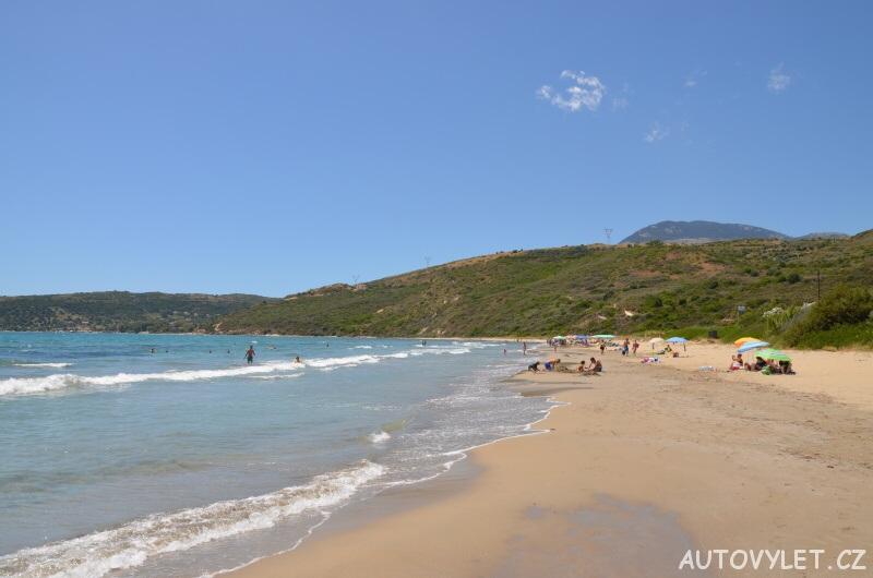 Pláž Mounta - Kefalonia Řecko