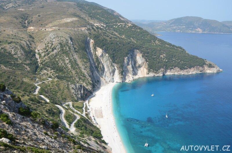Pláž Myrtos - Kefalonia Řecko