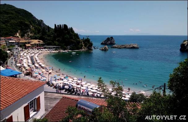 Pláž - Parga Řecko