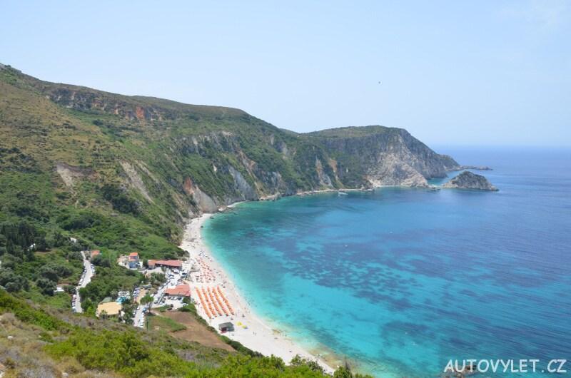Pláž Petani - Kefalonie Řecko