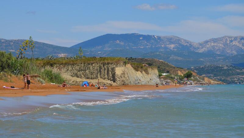 Pláž Xi - Kefalonia Řecko