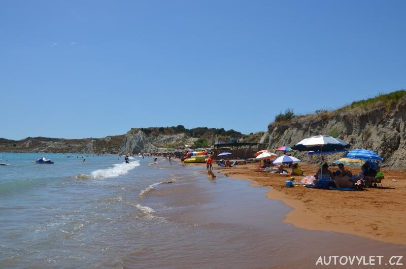 Pláž Xi - Kefalonie Řecko