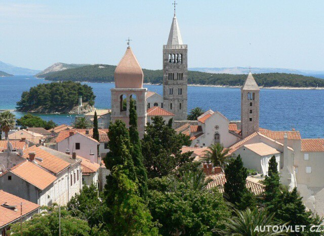 Rab město Chorvatsko